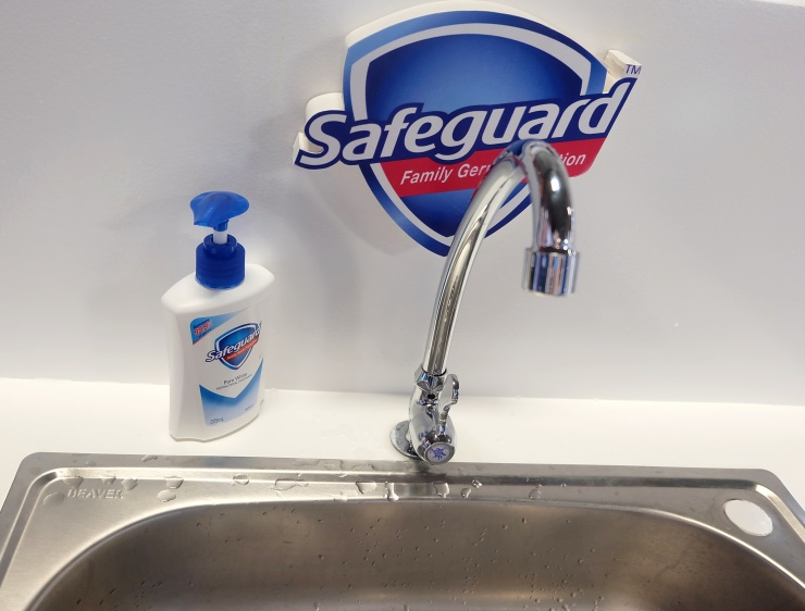 dyosathemomma-HFMD in kids. Wash with Safeguard