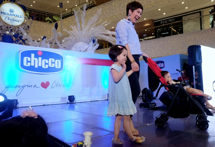 dyosathemomma: Georgina Wilson and son Archie Burnand for Chicco Philippines