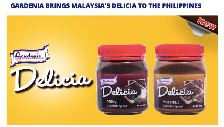 dyosathemomma: Gardenia Delicia Hazelnut Chocolate Spread