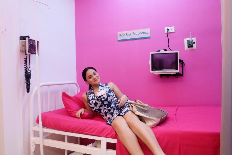 dyosathemomma: Delgado Clinic Optimal Birth Outcome OBO Program, labor room