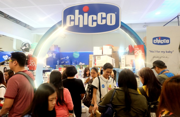 dyosathemomma: Baby Company Grand Baby Fair Year 8 SM Megatrade Hall, Chicco