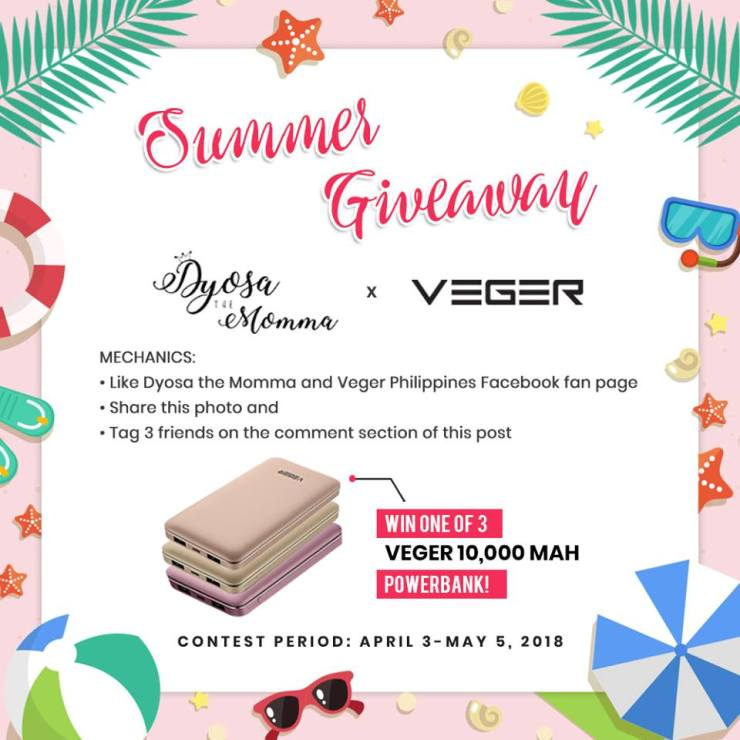 dyosathemomma: Veger Powerbank Philippines review and giveaway