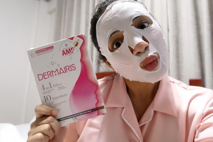 dyosathemomma: Dermairis Korean Face Mask, night beauty regimen for moms and pregnant women