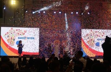 dyosathemomma: Shopwise Circuit Makati grand opening