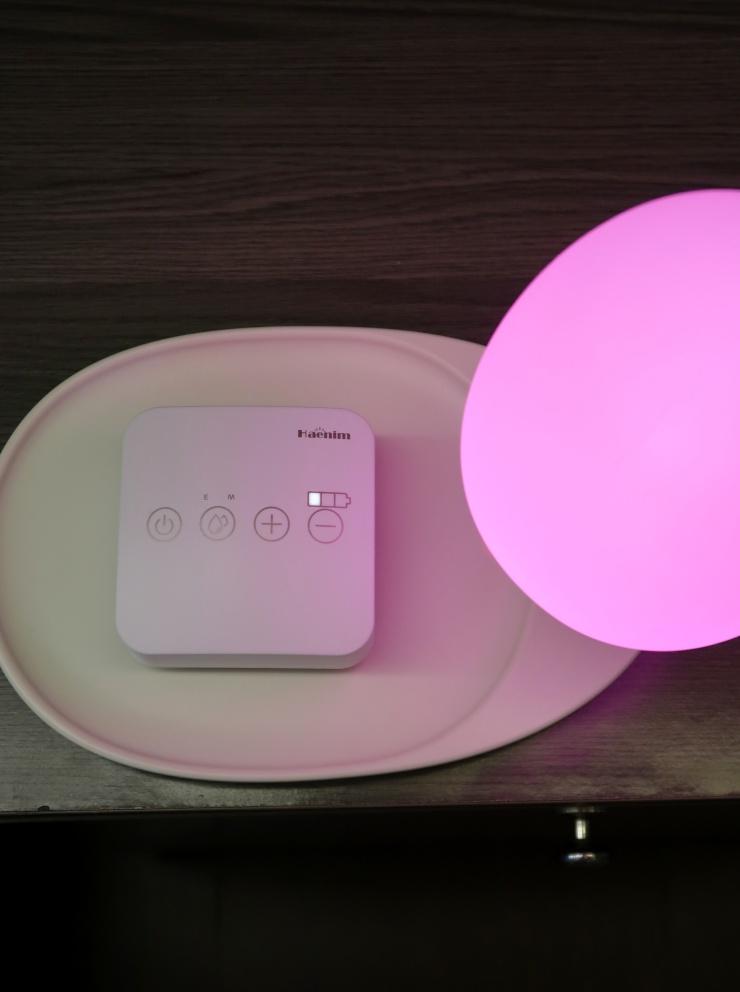 dyosathemomma: Haenim 7A Pocket Breast Pump and Haenim Wireless Charging Tree Desk Lamp Review PH