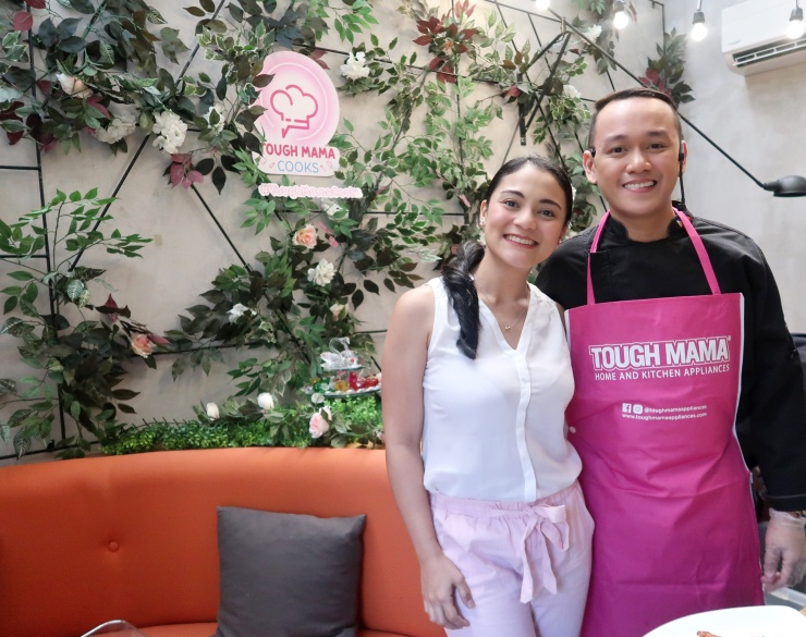 dyosathemomma: Tough Mama Kitchen Appliances, mommy blogger, cooking tips for busy moms, Chef Jam Melchor