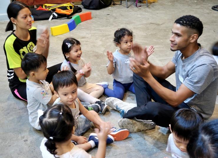 dyosathemomma: Ready Steady Go Kids, RSGK, multi-sports summer program activity for kids, Amaria Niszha