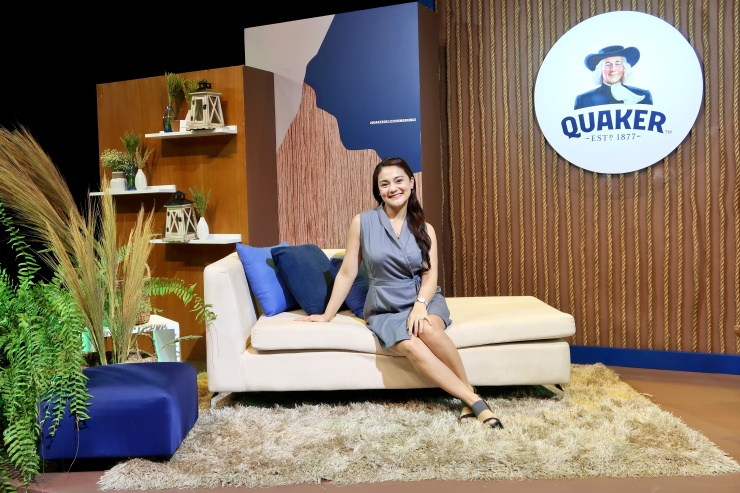 dyosathemomma: #QuakerDeliciousMornings Quaker Oats, mommy blogger ph